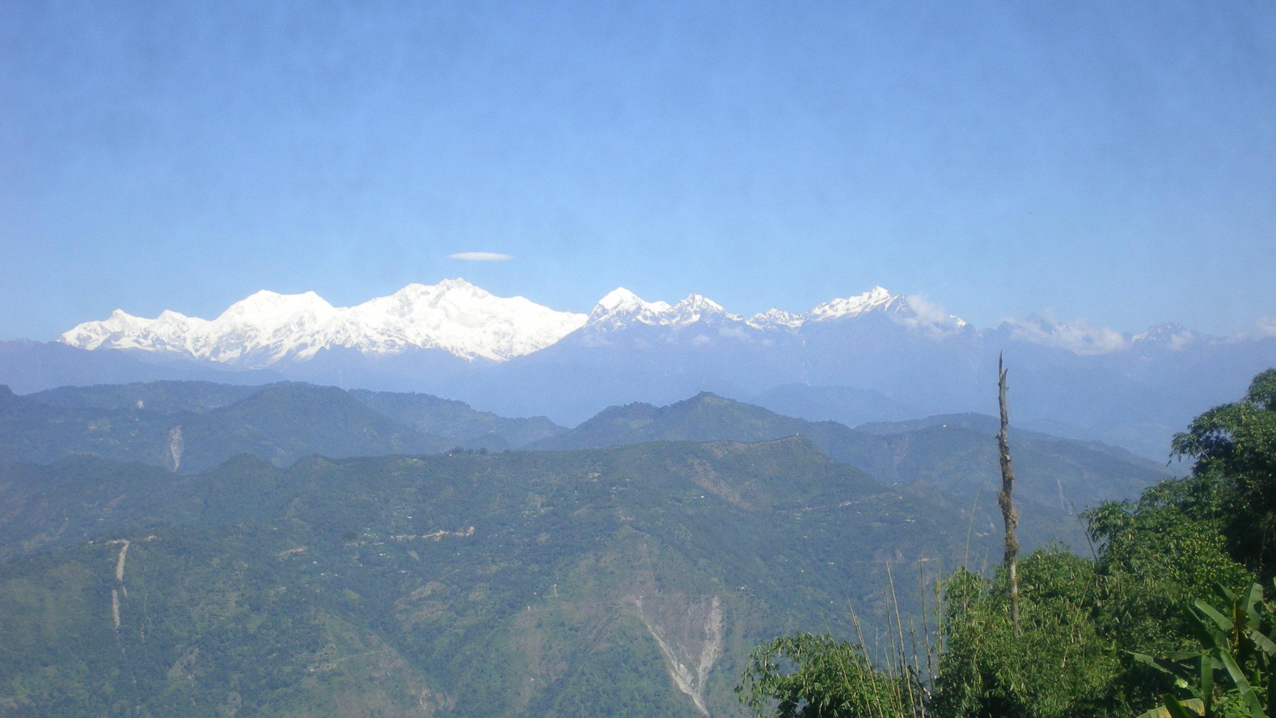 Kanchenjunga: 8 586 m n. m.