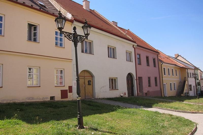Původní zástavba v Plačkově ulici, Boskovice