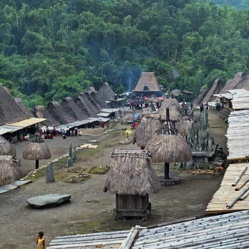 pohled na vesnici Bena