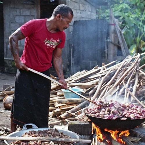 vaření masa