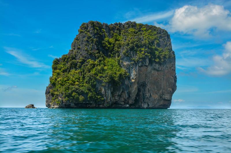 Cesta z Ao Nang na ostrov Ko Poda, Thajsko