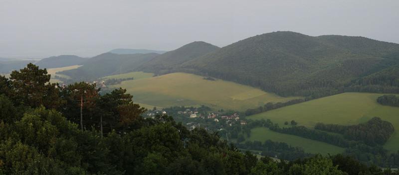 Mohyla Milana Rastislava Štefánika, Slovensko - panorama