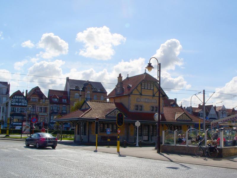 De Haan - stanice Kusttram