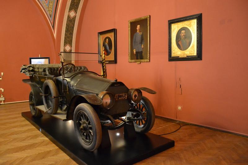 Automobil v kterém jel František Ferdinand d'Este 28.61914 v Sarajevu