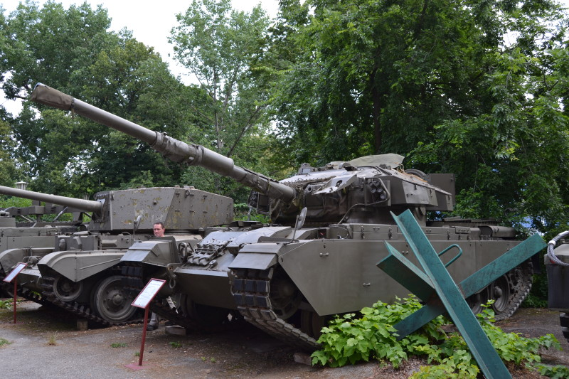 Britský tank Centurion z výzbroje poválečného Rakouska