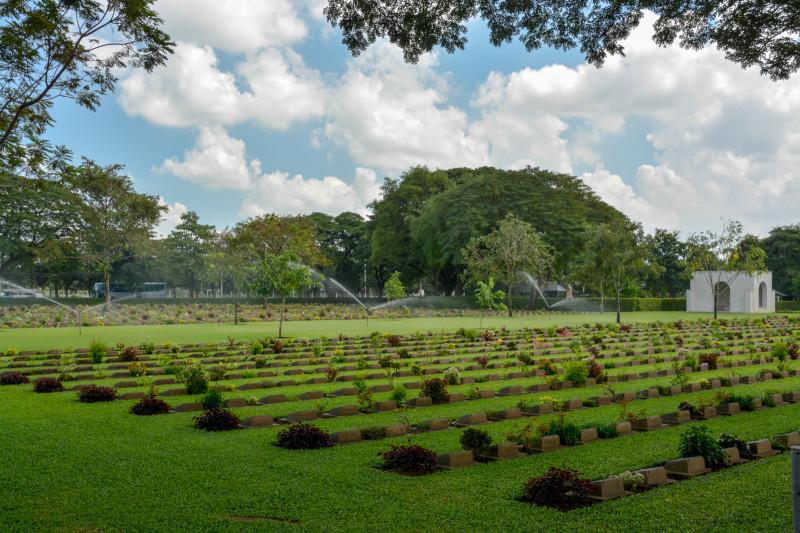 Spojenecký hřbitov Don Rak, Kanchanaburi, Thajsko