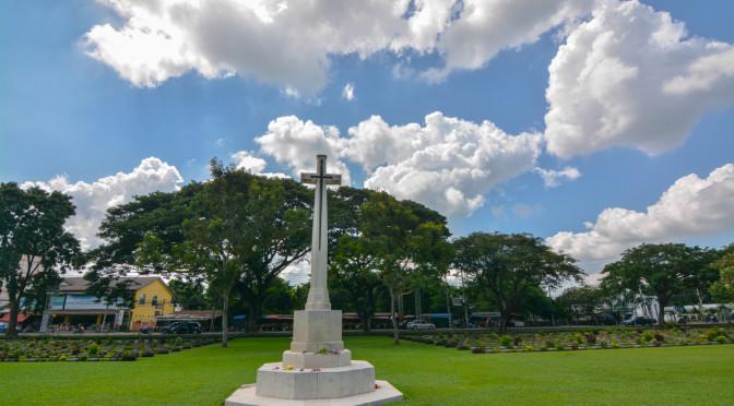 Spojenecký válečný hřbitov Don Rak, Kanchanaburi, Thajsko