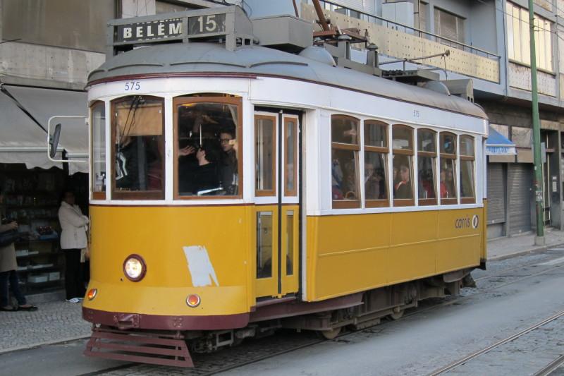 Tramvajová linka do Belému, Lisabon