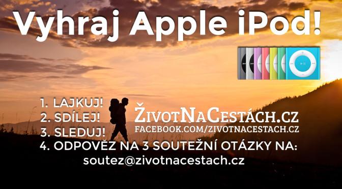 Soutěž o Apple iPod Shuffle k oslavě 1. narozenin webu ŽivotNaCestách.cz