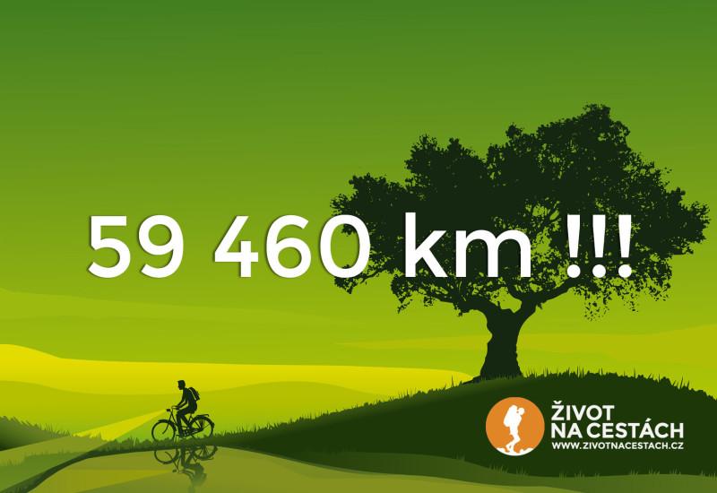 Vítězslav Dostál - první Čech, který objel na kole Zeměkouli, při své cestě, která trvala 3 roky a 3 dny, ujel na jízdním kole značky Velamos 59 460 km!