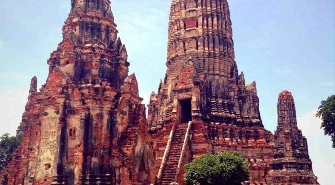 Zmoklé dobrodružství, Ayutthaya, Thajsko