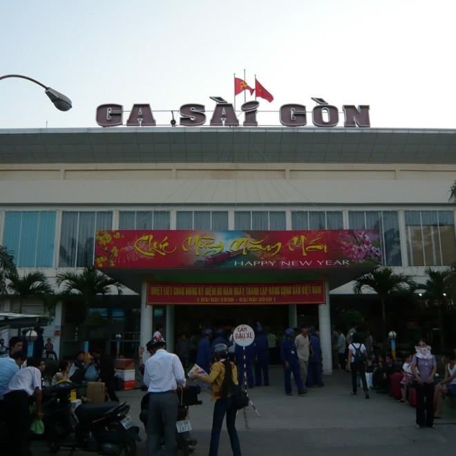 Nádraží v Saigonu