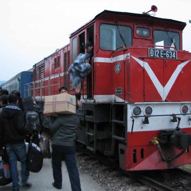 Všimněte si loga na lokomotivě - ano, je to ČKD