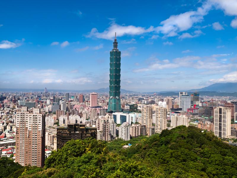 Taiwan Taipei 101 building