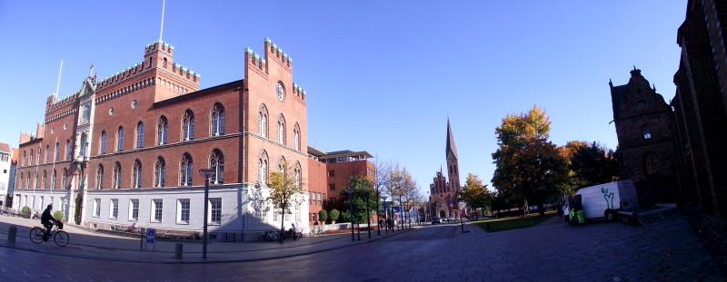 Flakhaven a Sankt Albani Kirke, Odense