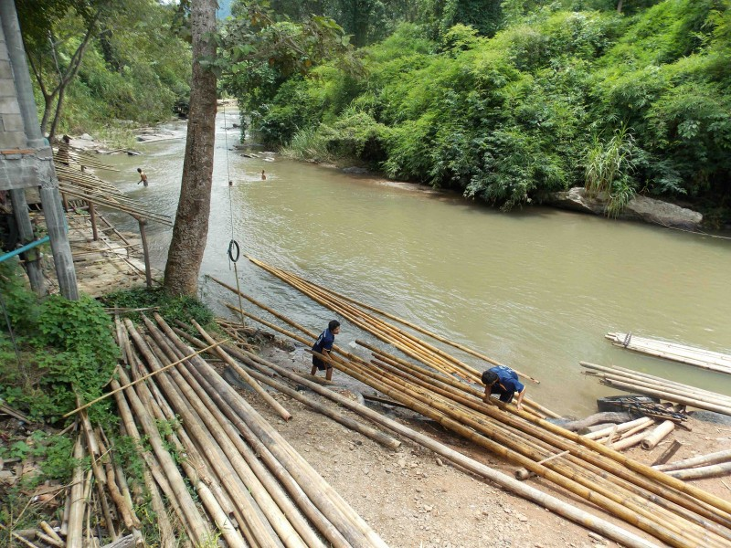 Příprava vorů, Thajsko