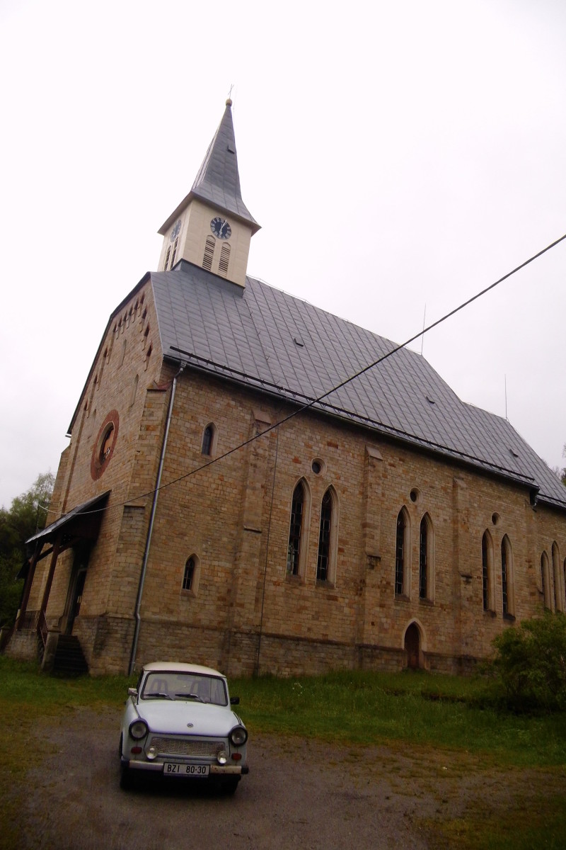 Kostel, Staré Hamry, Trabant