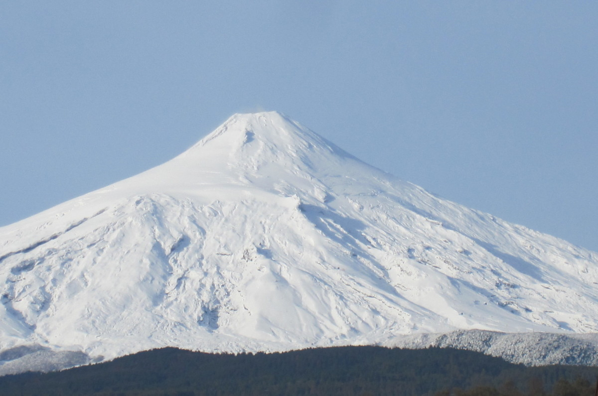 Sopka Villarica.