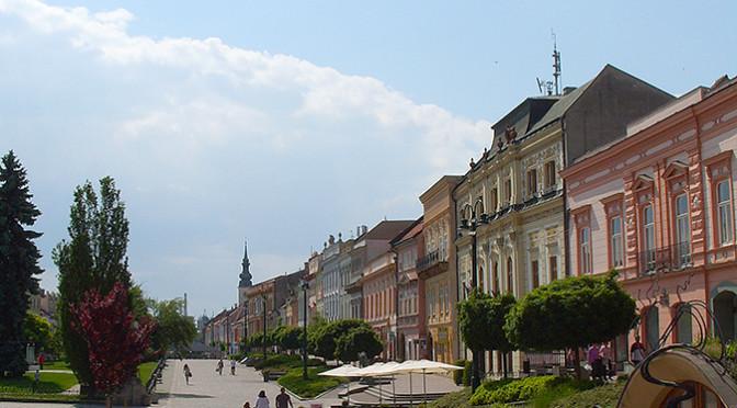 Prešov – město s velkou duší, Slovensko