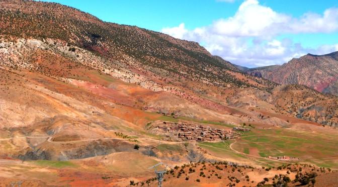 Putování po národním parku Toubkal, Maroko