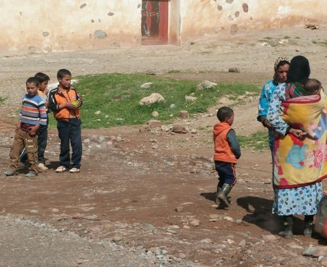 Berberské děti.