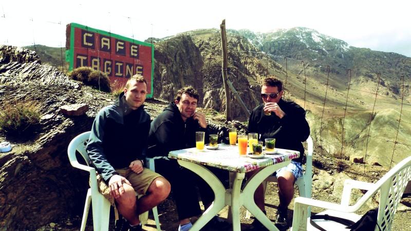 Opravdu příjemné posezení i bez piva. :-)