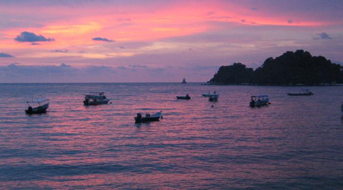 Pangkor, klídek v Melacké úžině – Malajsie