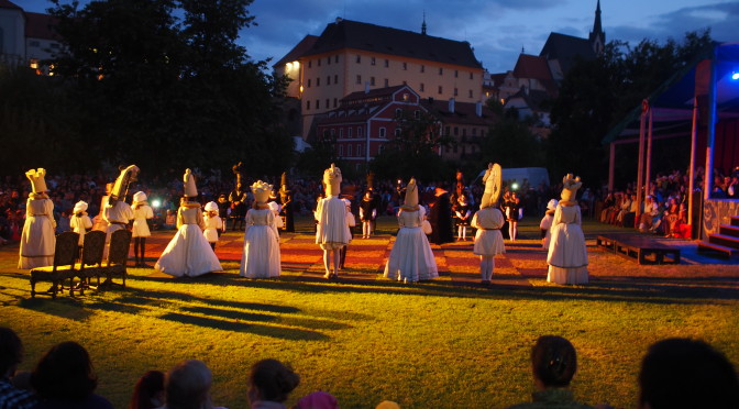 Slavnosti pětilisté růže 2014, Český Krumlov