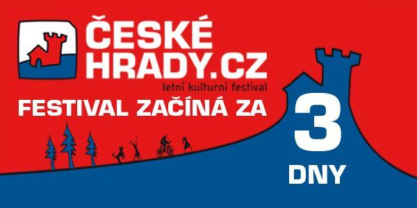 Pozvánka na hudební festival Hrady CZ na hradě Točník