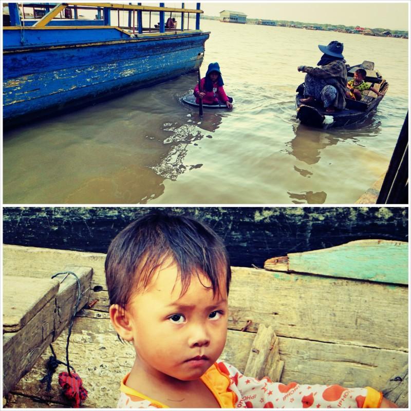 Kambodžské děti.