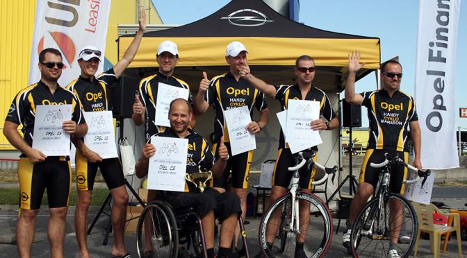 111 hodin Opel handy cyklo maraton 2014