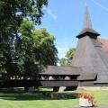 Dřevěný kostelík v Kočí