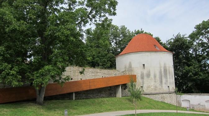 Klášterní zahrady a bašta Prachárna, Chrudim