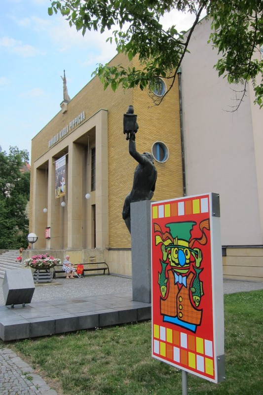 Divadlo Karla Pippicha v době konání Loutkářské Chrudimi