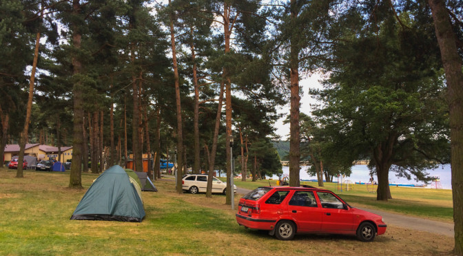 Camping Vranovská pláž, Vranovská přehrada