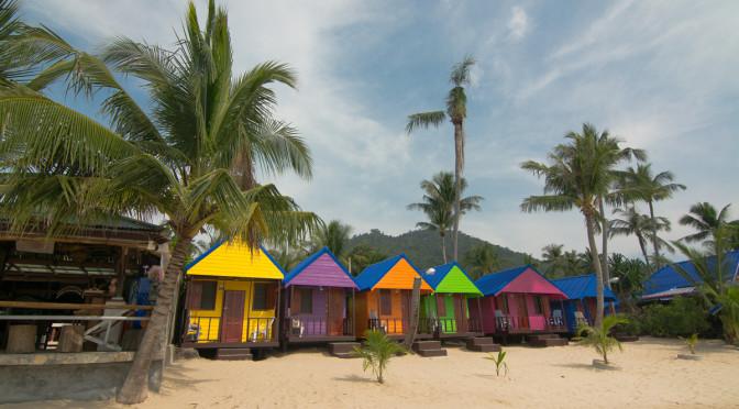 New Hut Bungalow, Lamai, Ko Samui, Thajsko