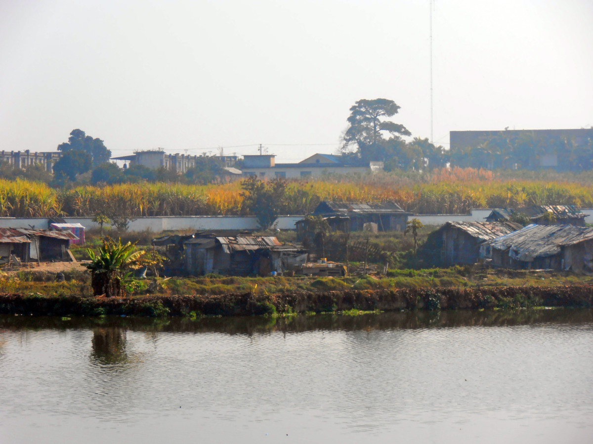 Ruili - slumy, Čína
