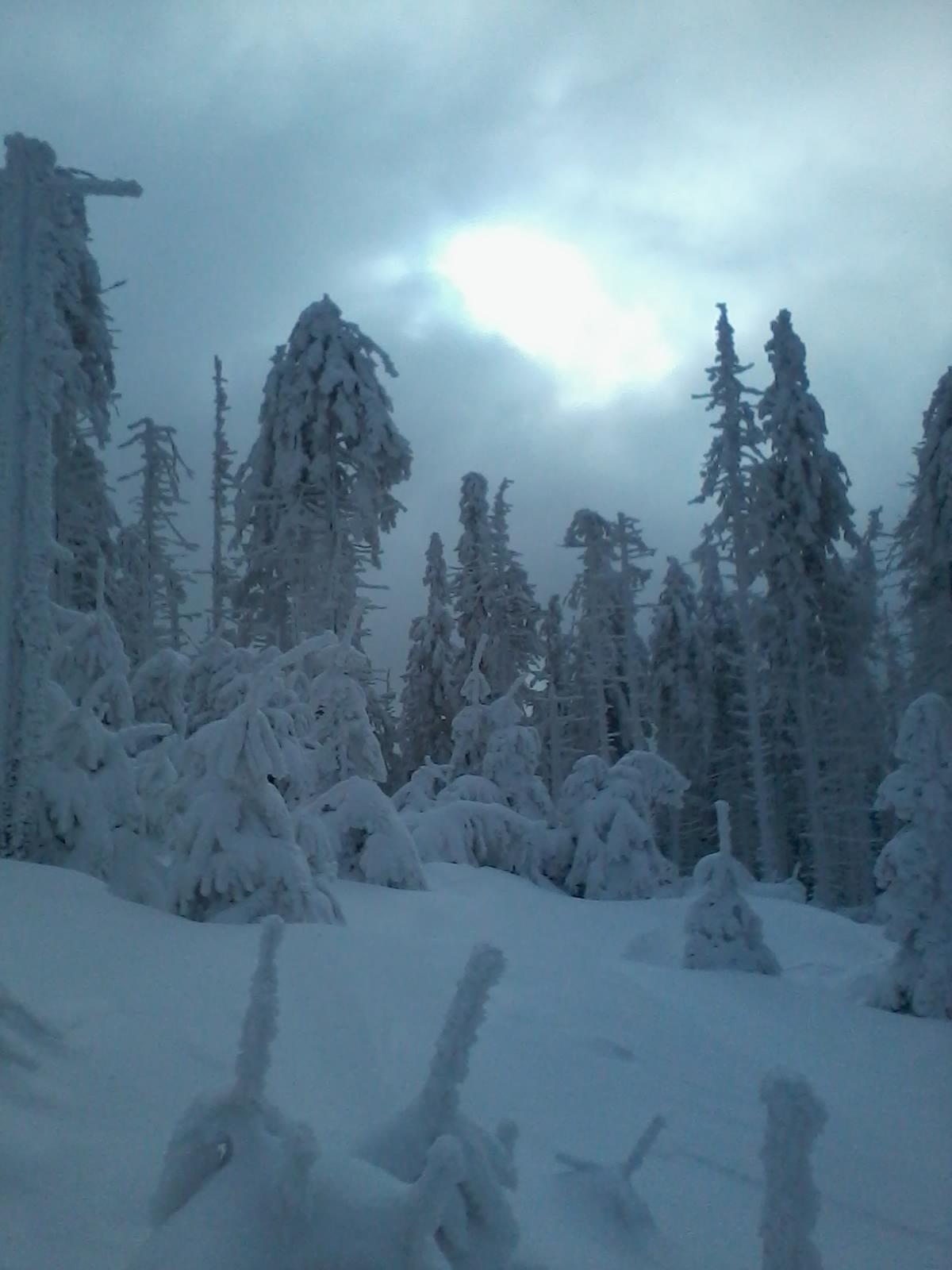 Spaní ve sněhu - Život na cestách 57c160bd5a