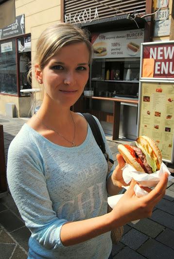 bratislava, hamburger