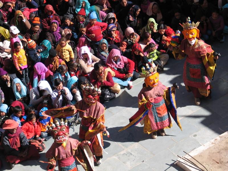 Festival Gu Stor, Thikse.