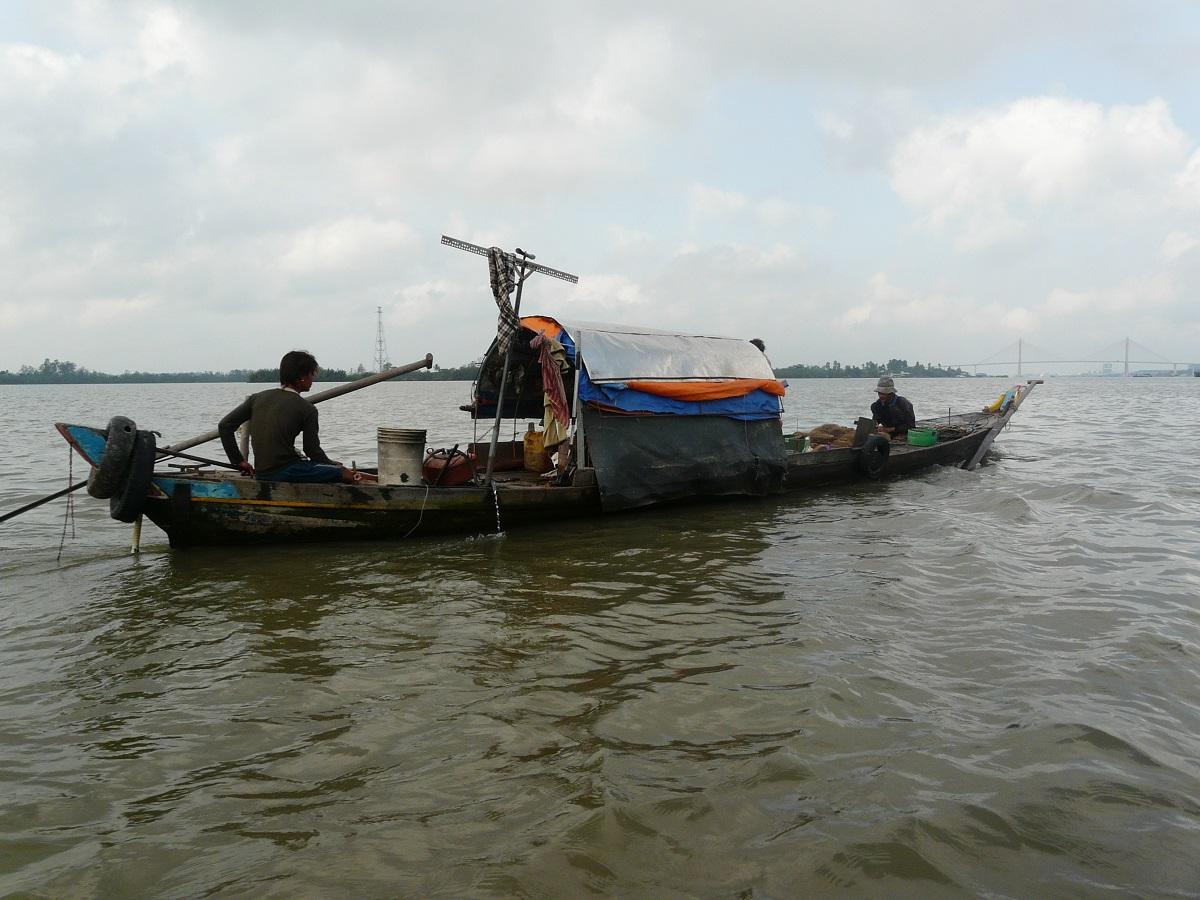 Řeka je pro ně téměř vším, Mekong, Vietnam