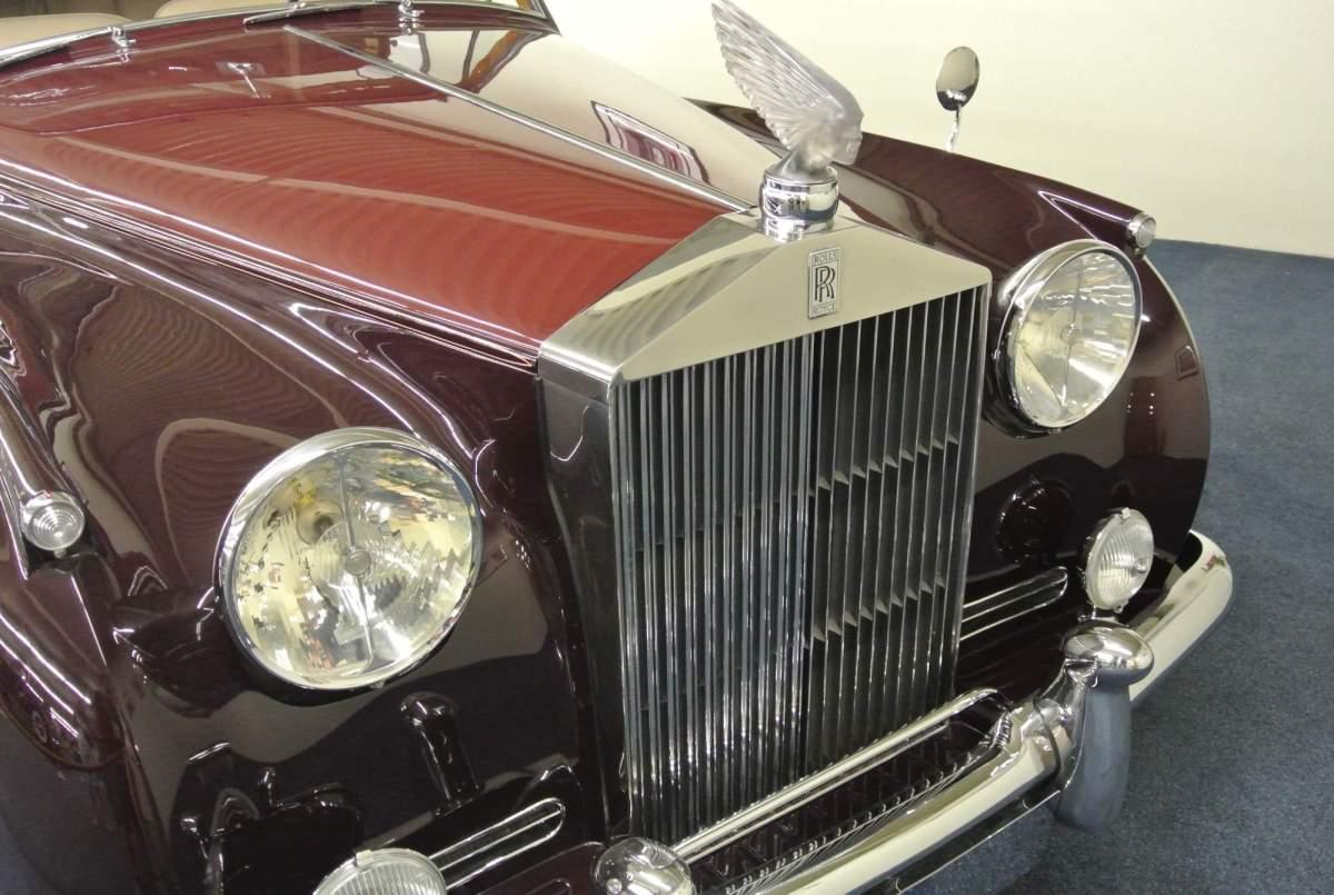 Las Vegas, muzeum Fordu, Rolls royce