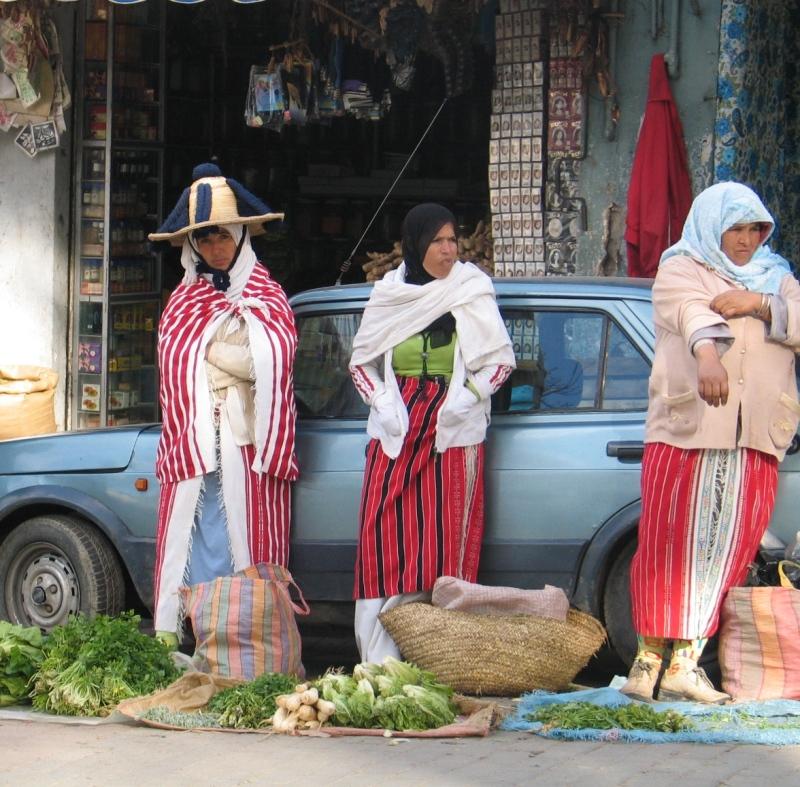Ženy z horských kmenů.