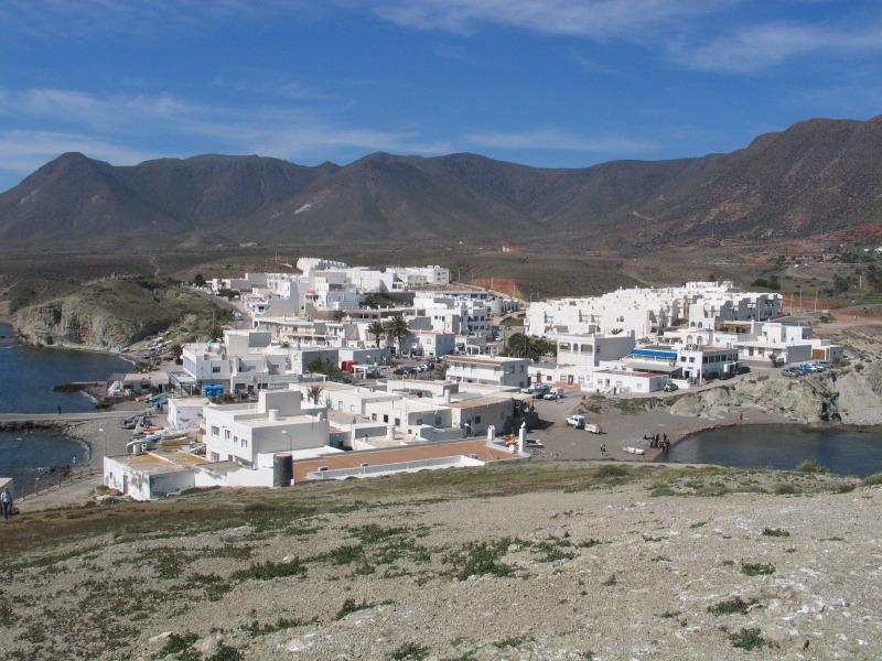 Vesnička Isleta del Moro.