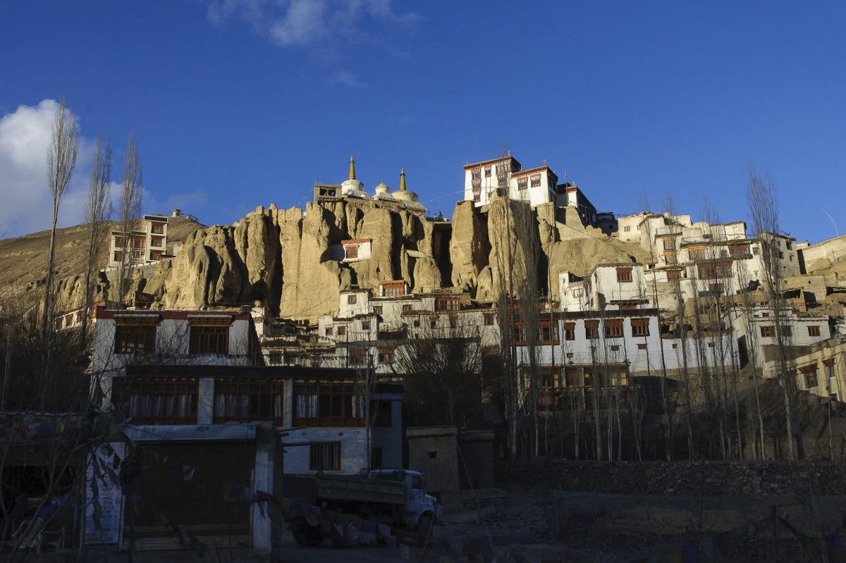 Chrám ve vesnici Lama Juru – největší v Ladaku