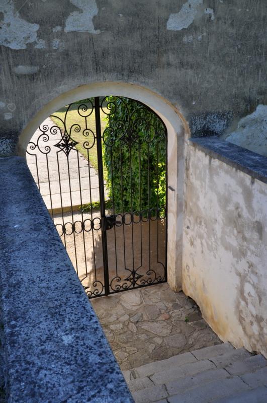 Uherčice - zámecké schody