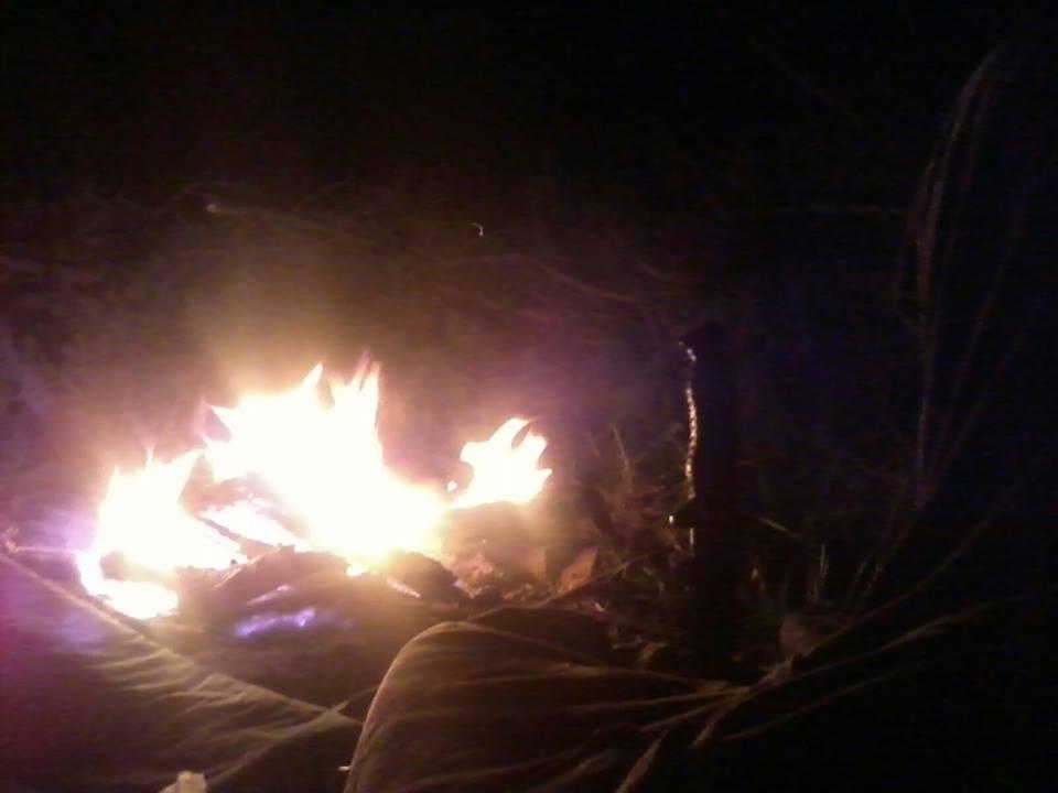 Oheň v lese, bushcraft