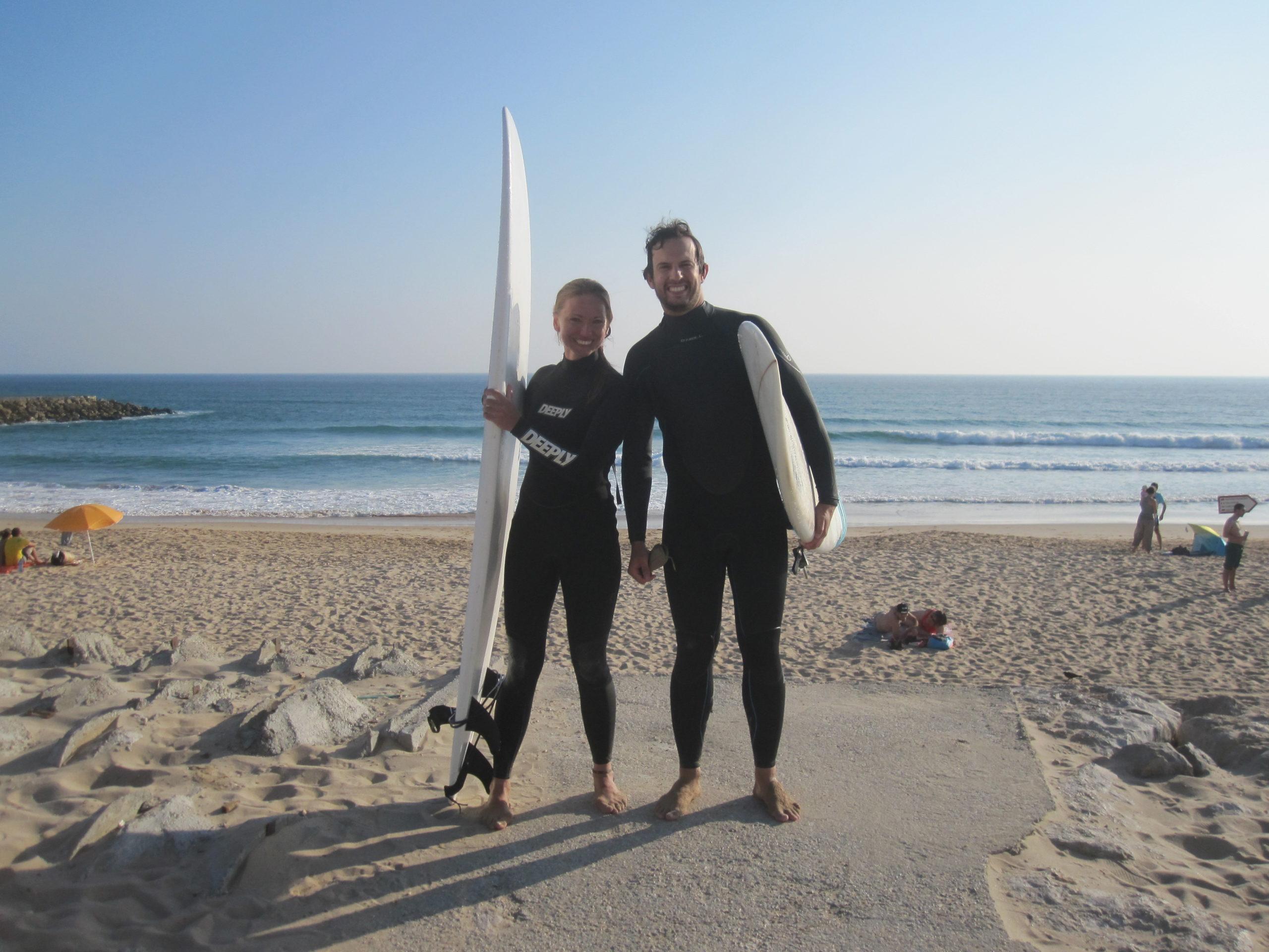 Říká se, že Portugalsko má ty nejlepší vlny v Evropě