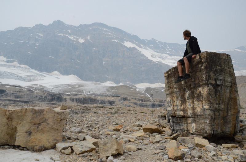 Iceline trail Jasper
