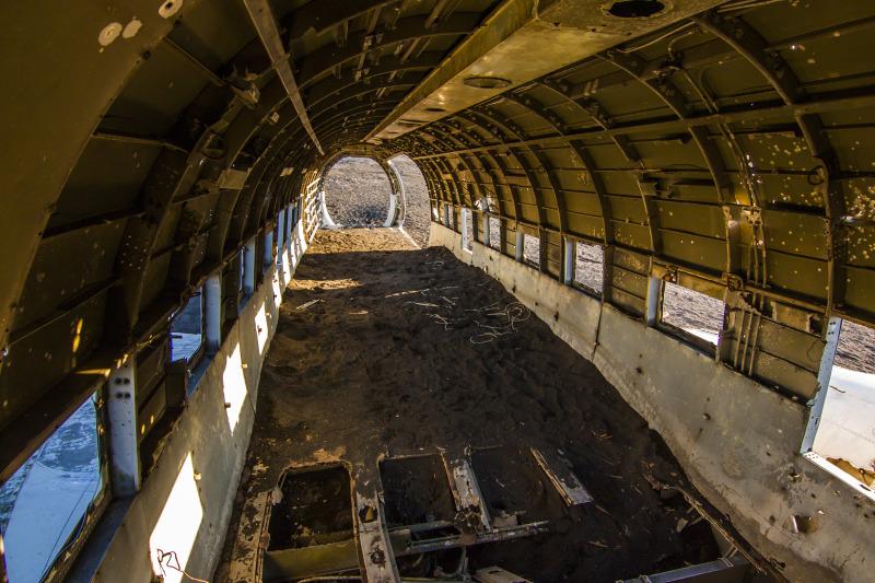 Vybydlený interiér Dakoty